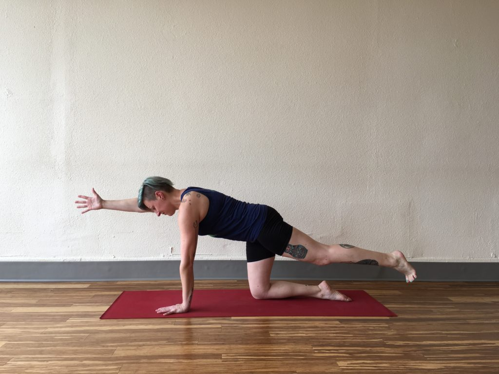 Perfect Your Plank Flat Mat Yoga